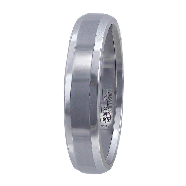Solid Tungsten Men's Band