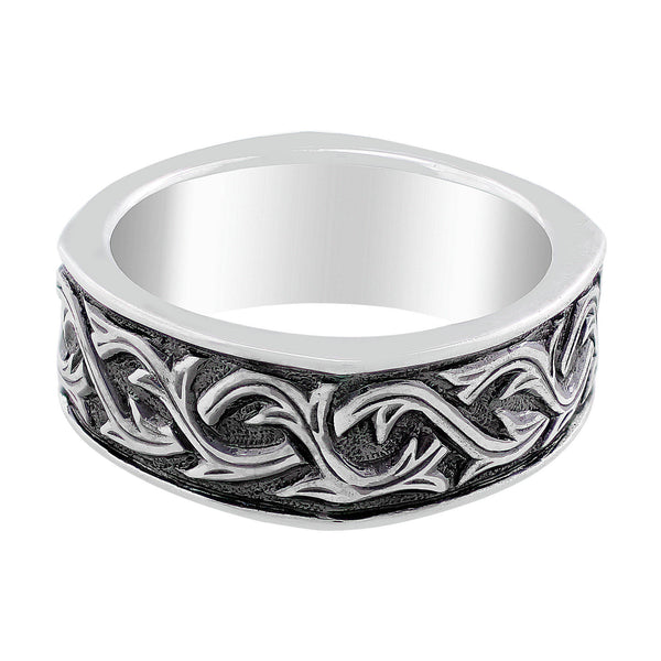Stephen Webster Silver Carved Thorn Ring