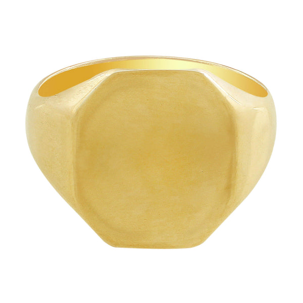 14kt Yellow Gold Signet Ring
