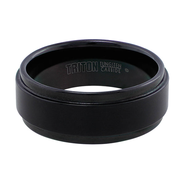 Black Tungsten Carbide Band