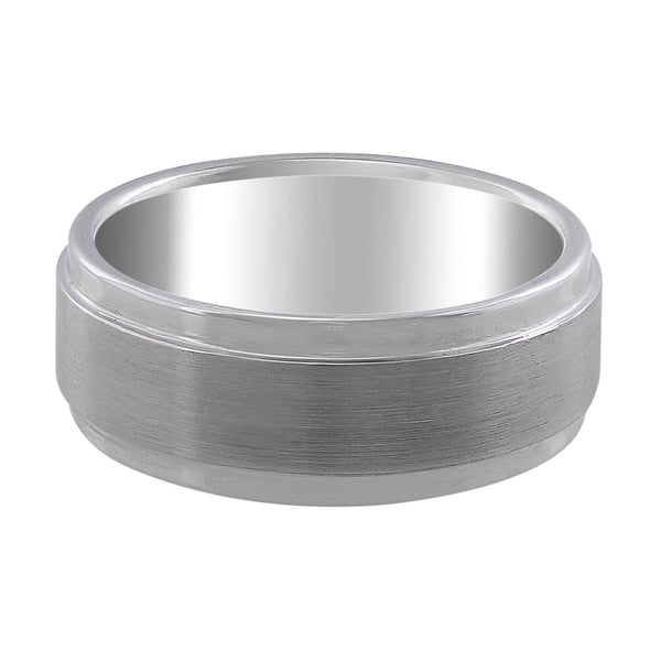 White Tungsten Carbide Band