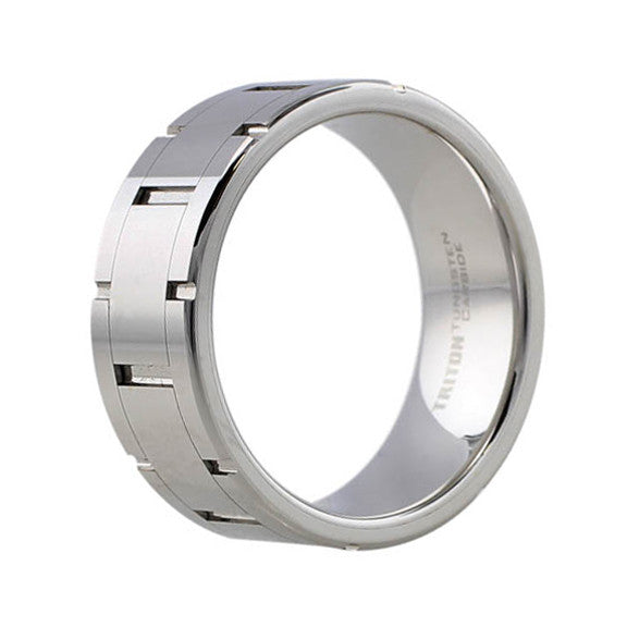 Links Tungsten Carbide Band