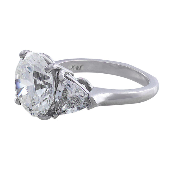 5ct Round Diamond Ring