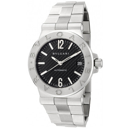 Bulgari Diagono 35mm Steel Automatic Ladies Watch 101614