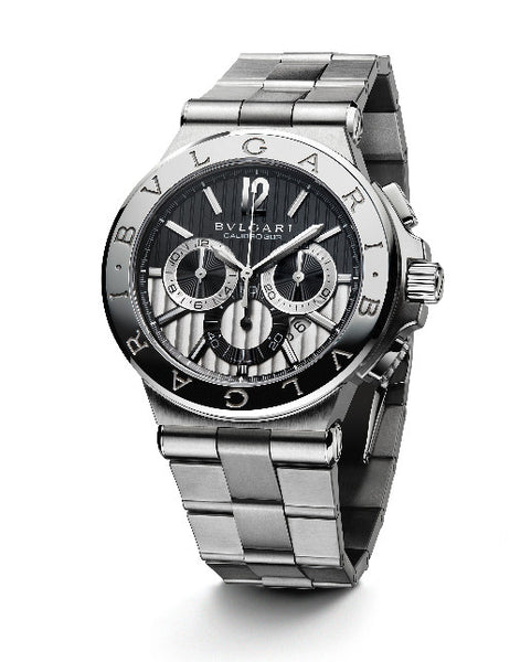 Bulgari Diagono 42mm Steel Chronograph Watch 101880