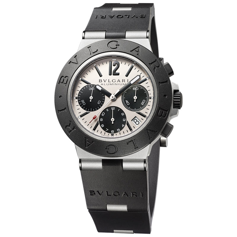 Bvlgari Aluminium Chronograph Watch 103383