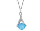 Stephen Webster Rocks Off Mini Turquoise Quartz Pendant
