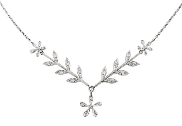 Estate Cathy Waterman Flower Necklace