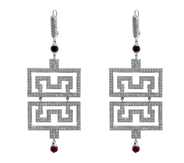 Estate Cartier Le Baiser Du Dragon Small Earrings