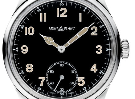Montblanc 1858 Manual Small Second Watch - MB113860