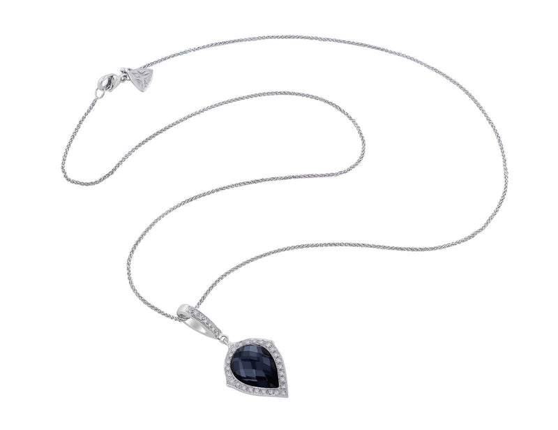 Stephen Webster Pear Hematite Pendant