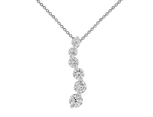 Natasia S 1ct Diamond Pendant Necklace