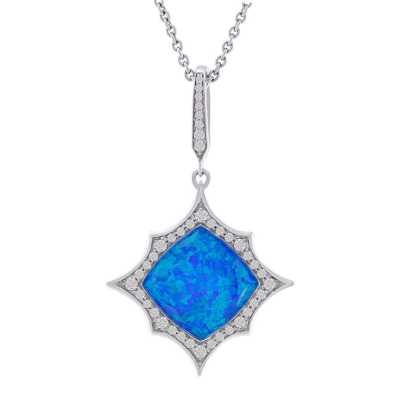 Stephen Webster Blue Cystal Haze Necklace