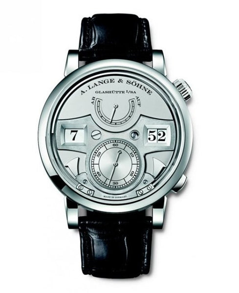 A. Lange & Söhne Platinum Lange Zeitwerk Striking Time 145.025, SIHH 2011