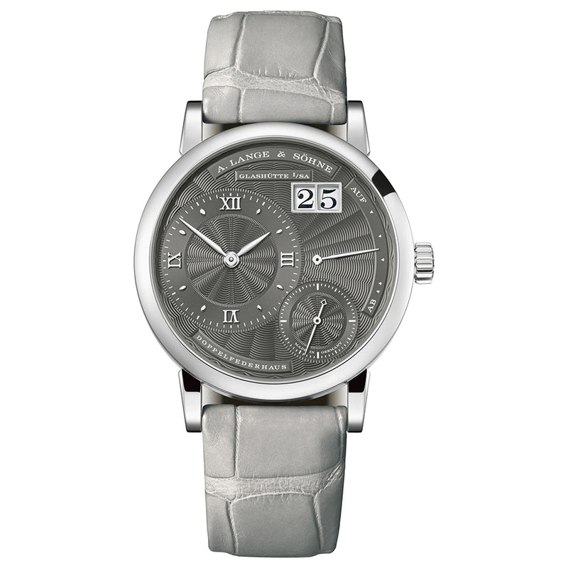 LITTLE LANGE 1 White Gold 181.038