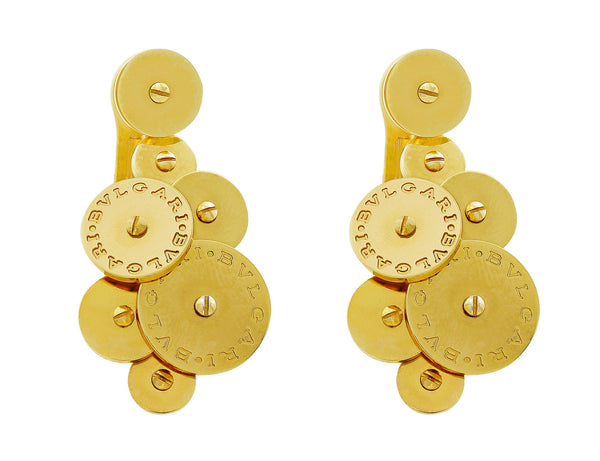 Bvlgari Cicladi 18kt Yellow Gold Earrings