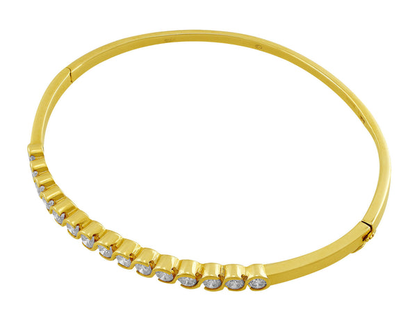 18kt Yellow Gold Diamond Bracelet