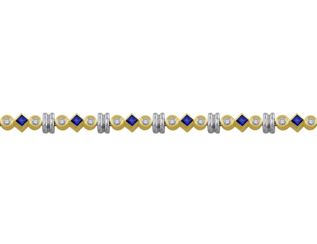 gold product bracelet blue sapphire facets white click london enlarge diamond and to lotus