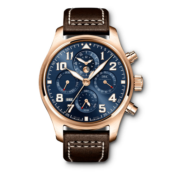 "PILOT'S WATCH PERPETUAL CALENDAR CHRONOGRAPH EDITION ""LE PETIT PRINCE"" IW392202"