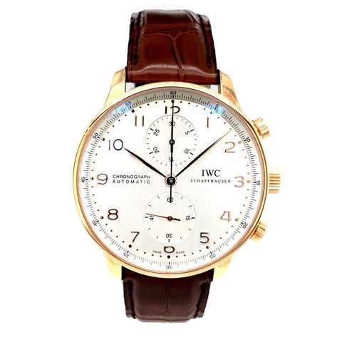 IWC Portugieser 18K Rose Gold IW371480 - New Old Stock