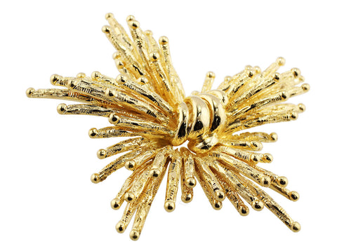Estate Tiffany & Co. Flower Weave Pin