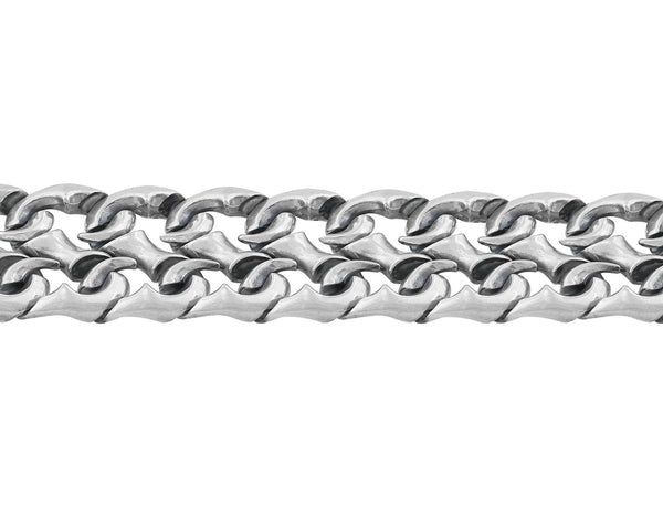 Stephen Webster Men's Sterling Silver Thorn S Link Bracelet
