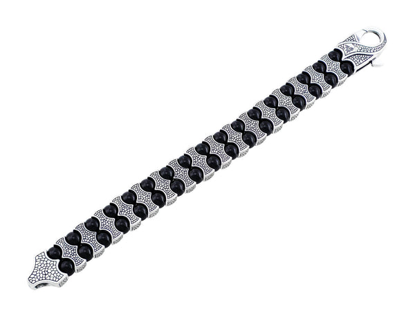 Stephen Webster Men's Onyx & Sterling Silver Bracelet