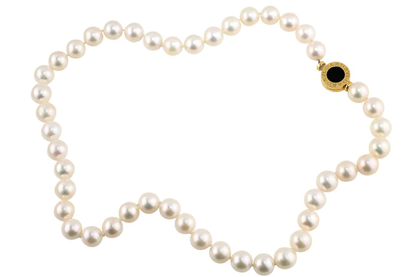 Estate Bulgari Pearl Necklace