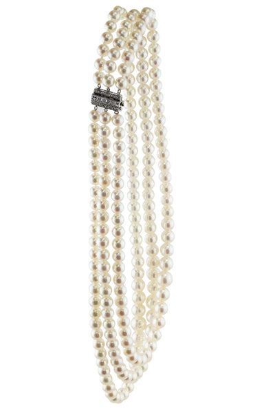 Tiffany & Co. Estate Pearl Necklace