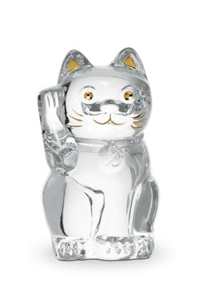 Clear Lucky Cat