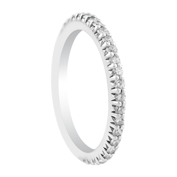 Bella Vita Single Row Diamond Ring