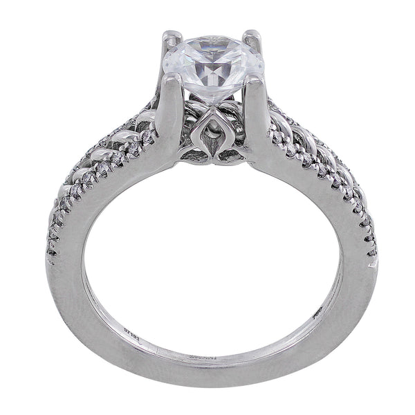 Andara Tapered Diamond Ring, Ritani