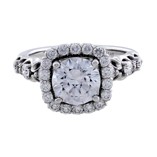 Ritani Masterwork Pave Diamond Ring
