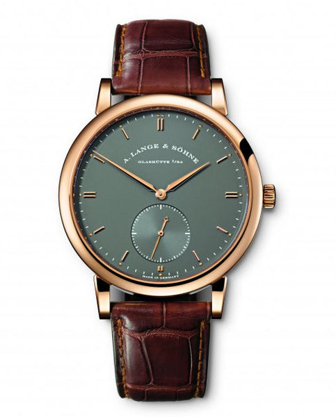 A. Lange & Söhne Grand Saxonia Automatik 18k Watch 307.033