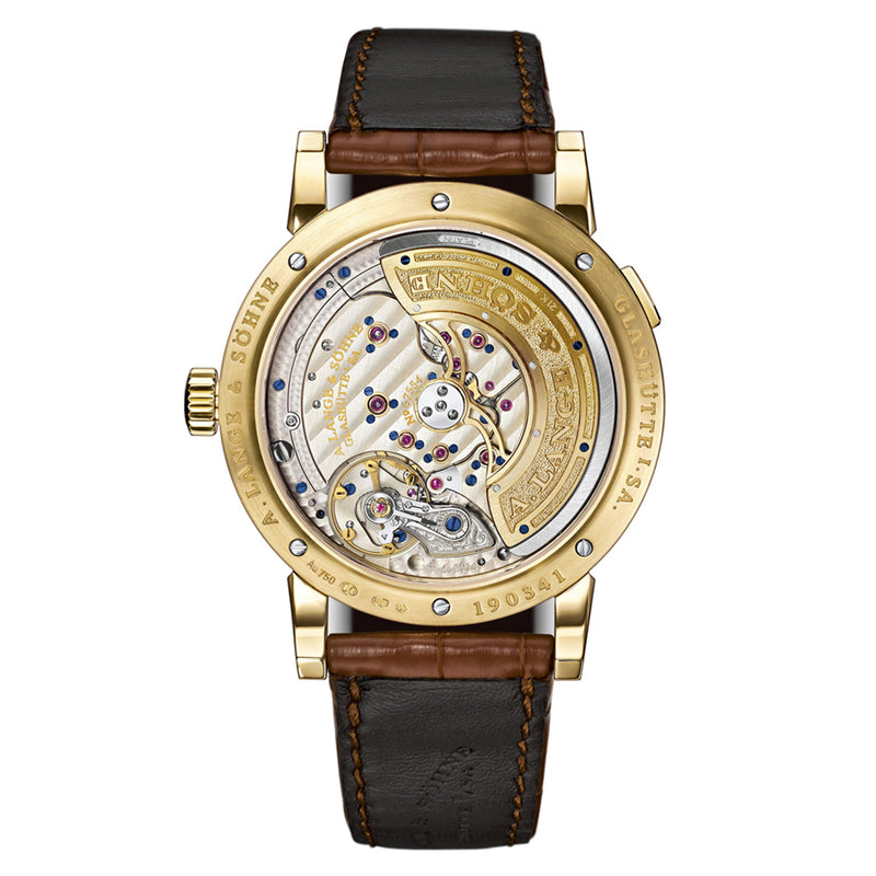Lange 1 Daymatic Yellow Gold 320.021