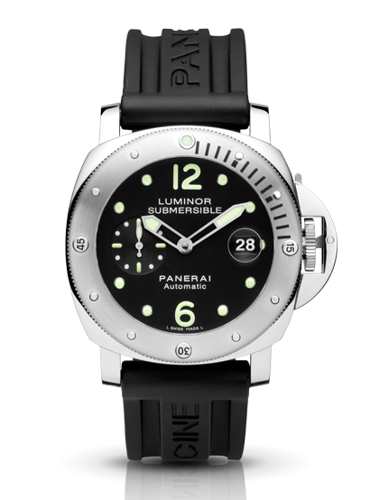 Panerai Luminor Submersible 44mm Steel Watch PAM00024
