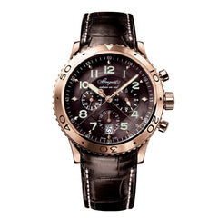 Breguet Transatlantique Type XXI Flyback Chronograph Rose Gold