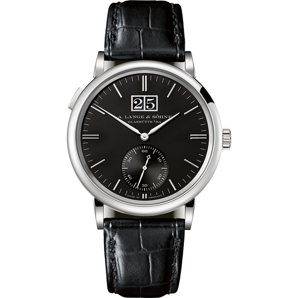 A Lange and Sohne Saxonia Outsize Date 381.029