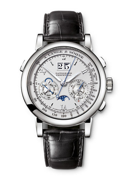 A. Lange & Söhne Datograph Perpetual Platinum Watch 410.025
