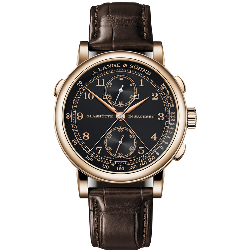 "1815 RATTRAPANTE HONEYGOLD ""Homage to F. A. Lange"" 425.050"