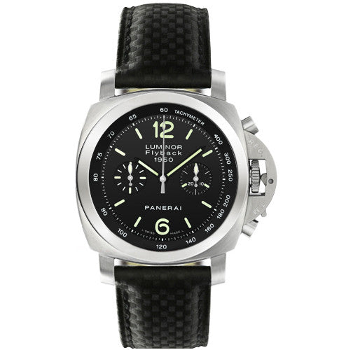 Panerai Luminor 1950 Flyback 44mm Steel Watch PAM00212
