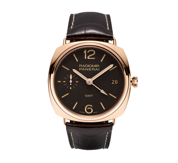 Certified Preowned Panerai Radiomir 3 Days GMT PAM00421