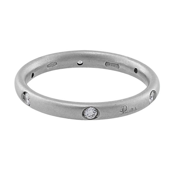 Pomellato White Gold Diamond Ring