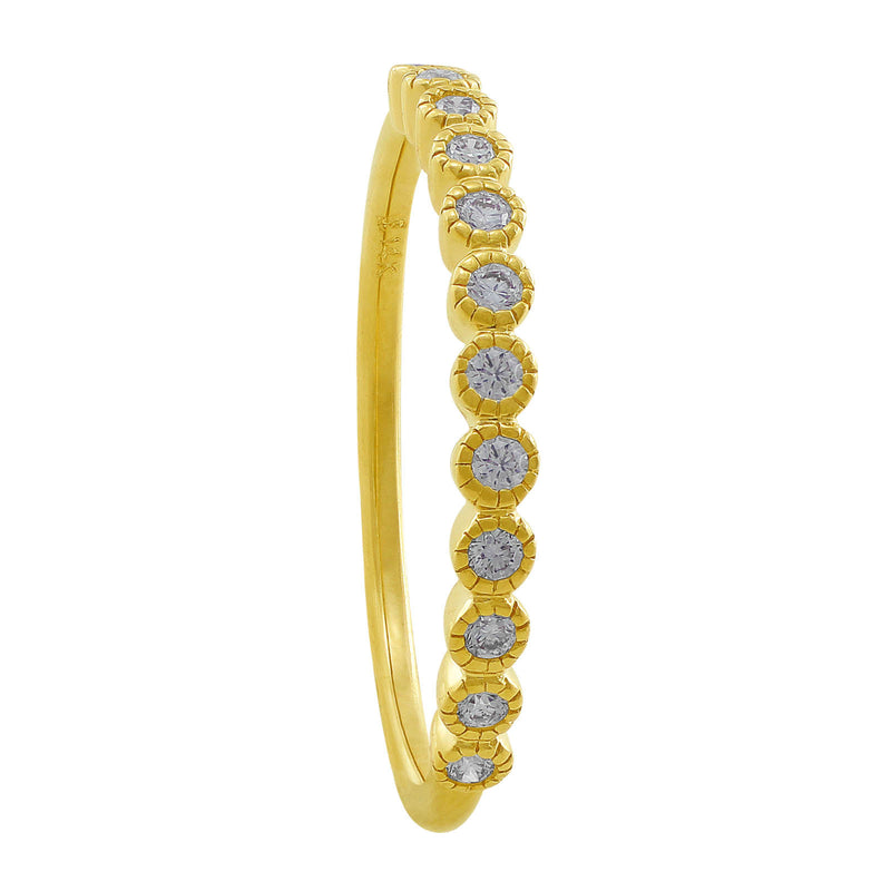 14kt Yellow Gold Diamond Anniversary Band