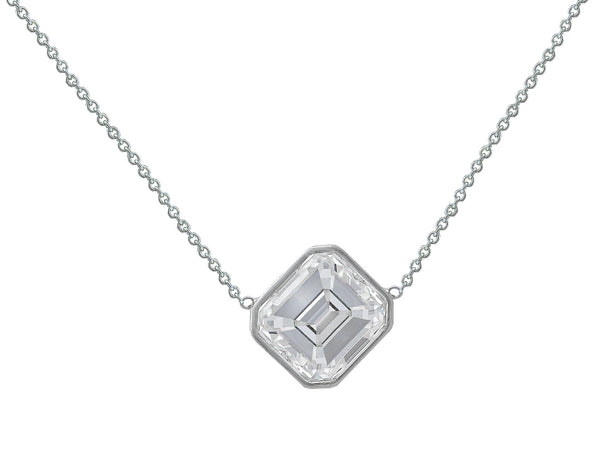 CJ Charles Riviera Solitaire Diamond Necklace