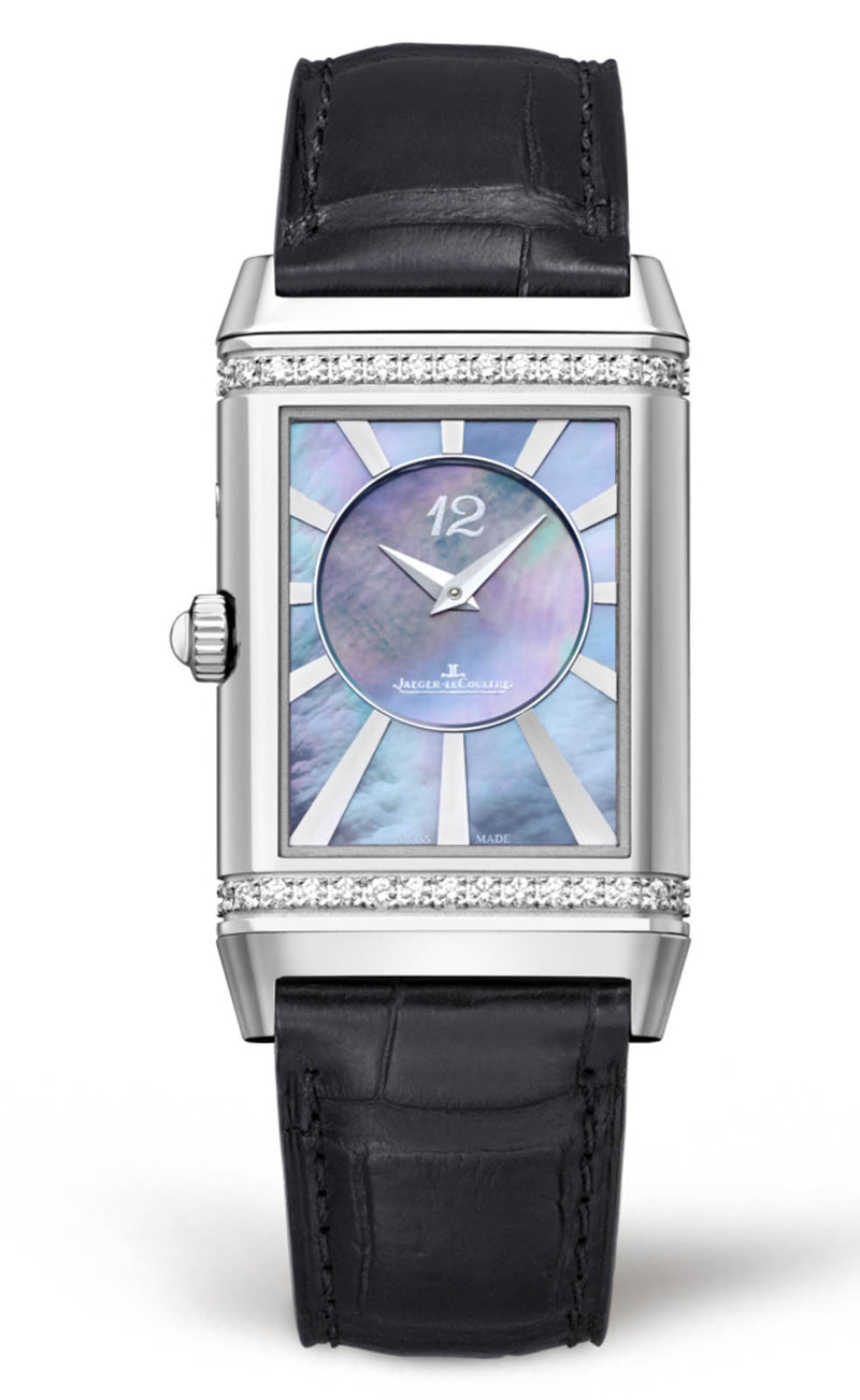 JLC Ladies Grande Reverso Ultra Thin Duetto Duo Watch