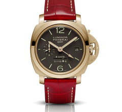 Certified Preowned Panerai Luminor 1950 8 Days GMT PAM00289