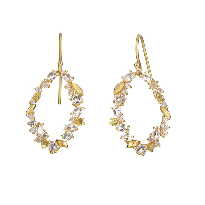Alexis Bittar Diamond & Gemstone Drop Earrings