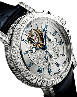 Breguet Marine Tourbillon High Jewelry Chronograph 5839BB/6D/9ZU DDOD