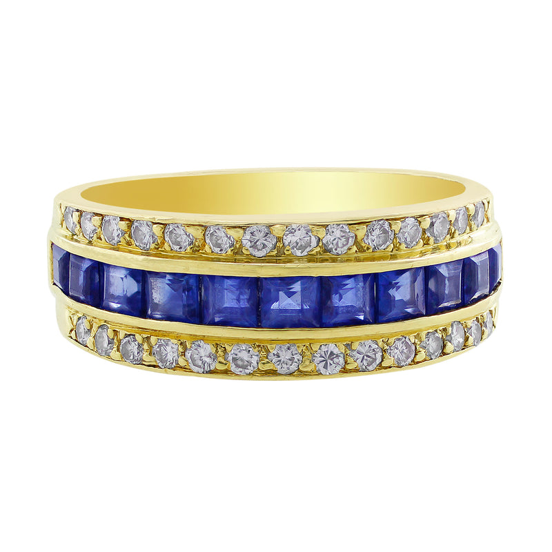 Tiffany & Co. Sapphire Diamond Ring